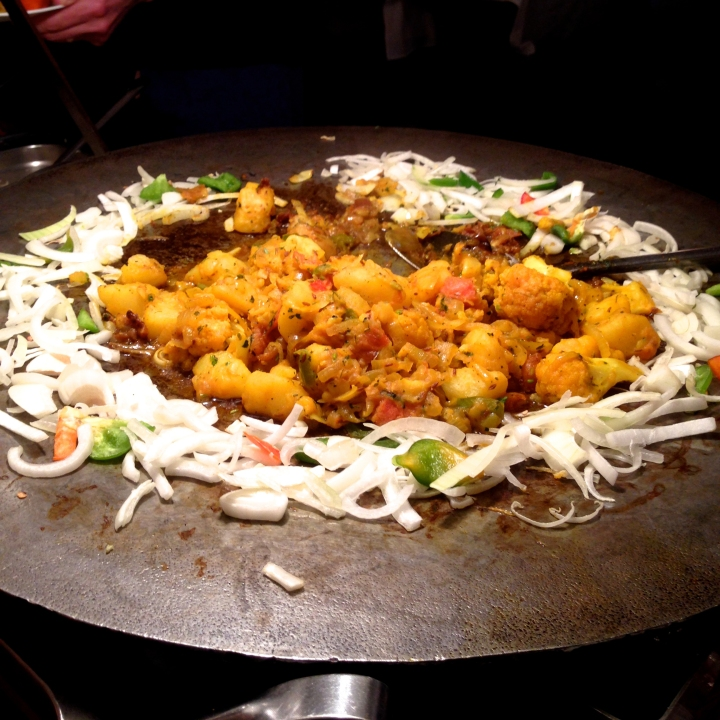 Aloo gobi at Samrat Indian Restaurant on University Ave.