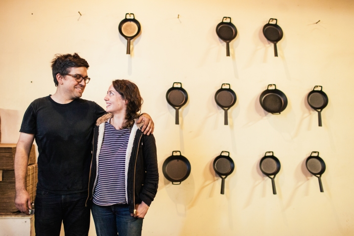 Borough Furnace, owned and operated by Truex and Liz Seru, continues to make small batches of handmade products using traditional casting methods with an environmentally-conscious footprint.