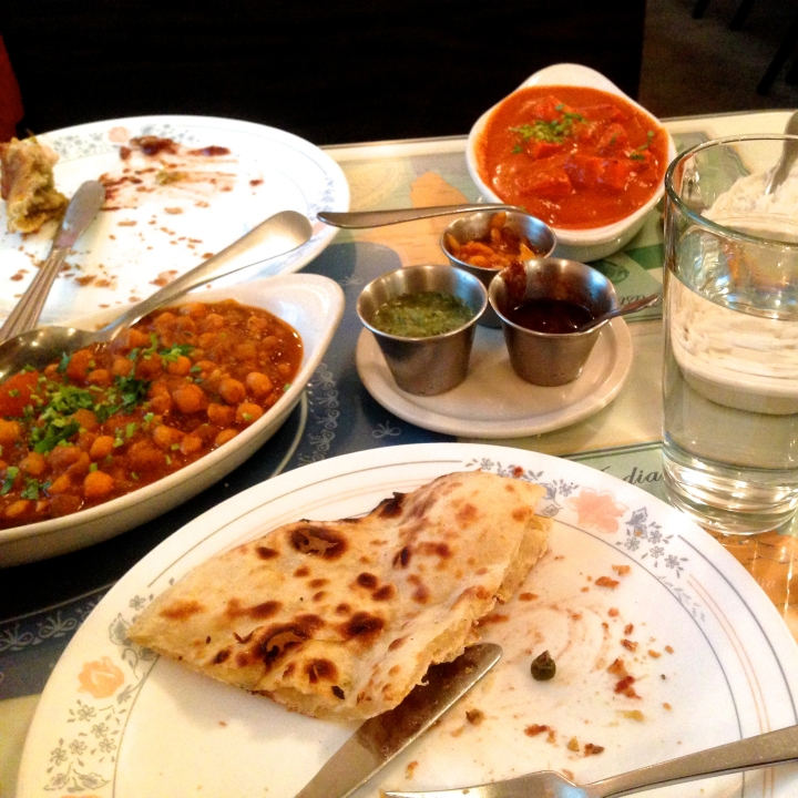 Lunch buffet at Samrat Indian Restaurant on S. Crouse Ave.