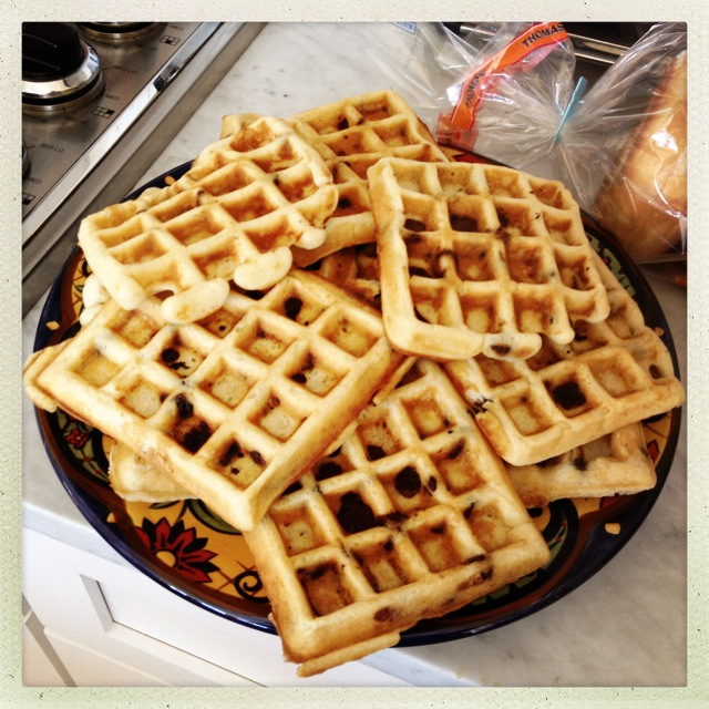 how to make real belgian waffles