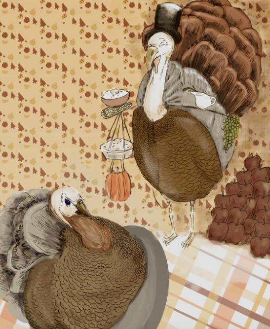 Illustration by Lise Sukhu.