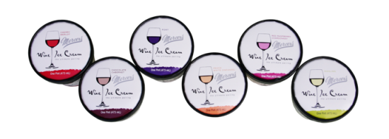 wine ice cream pic