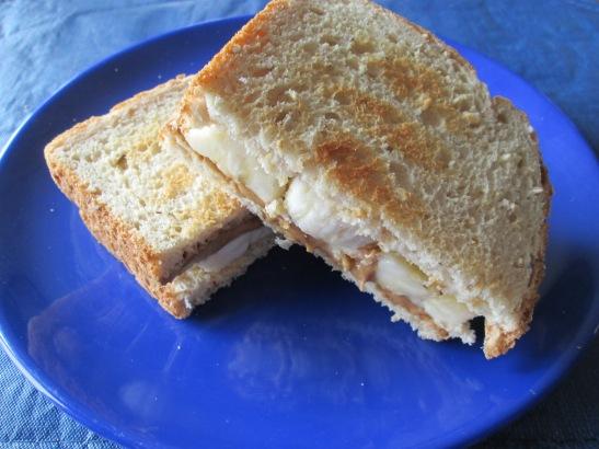 PBB- Peanut Butter Banana Sandwich