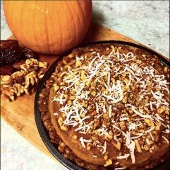 Raw Vegan Pumpkin Pie 4