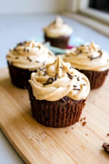 PB-Brownie-Cupcakes