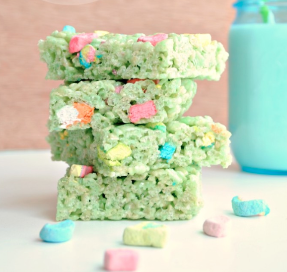 Lucky Charm Rice Krispies