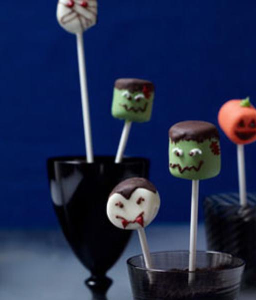 marshmallow heads