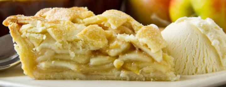 Apple pie and ice cream- irishcentral.com