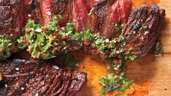 skirt-steak-with-chimichurri-sauce